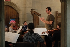 Recording Session Rehearsal (Photo by: Mount Auburn Cemetery)