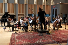Recording Session at WGBH Studios (Photo by: Mount Auburn Cemetery)
